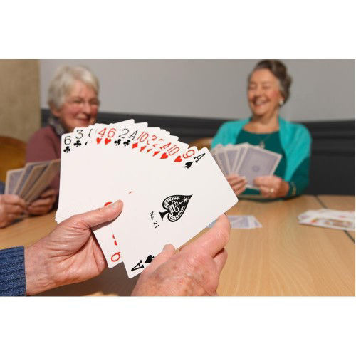 Picture of Jumbo Playing Cards