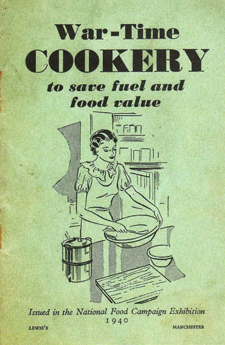 Activities to Share - Wartime Cookery retro booklet