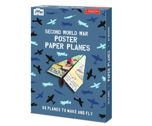 Picture of WW2 Poster Paper Planes (Makes 60 Planes)