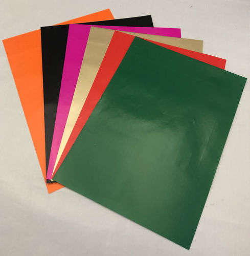 Picture of Coloured Sticker Paper (8 Assorted Sheets)