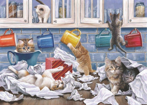 Activities to Share - 250 Large Piece Jigsaw Puzzle - Kitty Litter