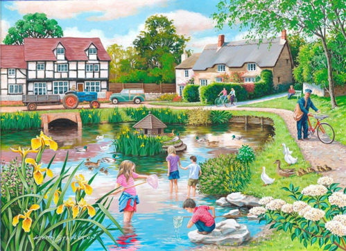Activities to Share - 250 Large Piece Puzzle - Duck Pond