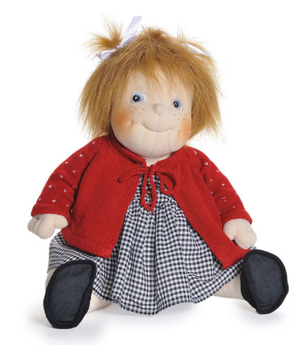 Empathy Doll - Kindy, reminiscence therapy doll, weighted bottom, washable with removable clothes, (l) 50cm, weight: 1kg.