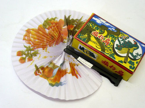 Paper Hand Fan (Box of 12), traditional Chinese style handheld fan