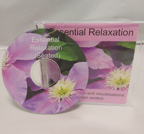 Essential Relaxation CD - Seated, gentle breathing and relaxation guidance to help relax muscles and help improve wellbeing.