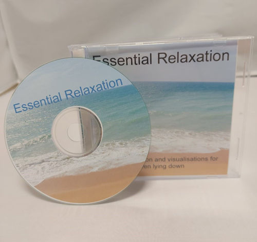 Essential Relaxation CD - Lying Down, gentle relaxation breathing guidance for care homes, hospitals and all abilities