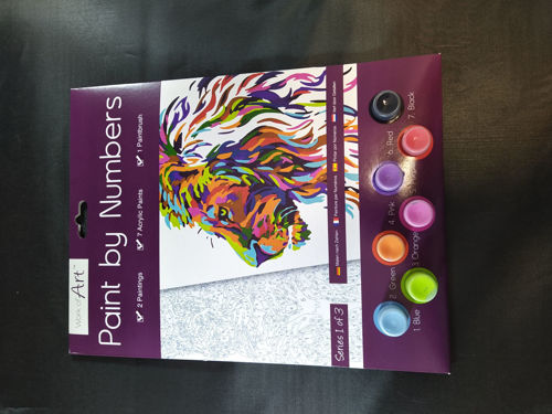 Picture of Adult Paint by Numbers - Wild Cats