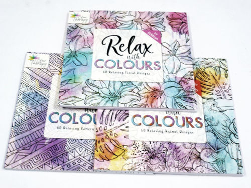Activities to Share - Relax With Colours - 3 Book Set