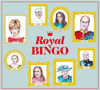 Royal Bingo Game, 64 royal faces to identify from around the world, contains playing cards, caller card and individual image cards, crown markers and storage bag, Size: Box: (l) 23.8cm x (w) 23.3 x (d) 6.6cm.