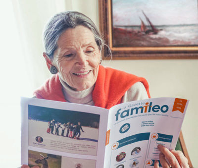 COVID-19: Care Home Residents - Keep Families in Touch with Famileo