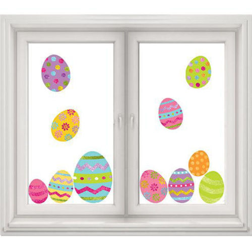 Picture of Easter Decor Window Clings