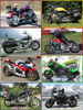 Picture of 6 Large Piece Puzzle - Biker (set of 8 assorted)