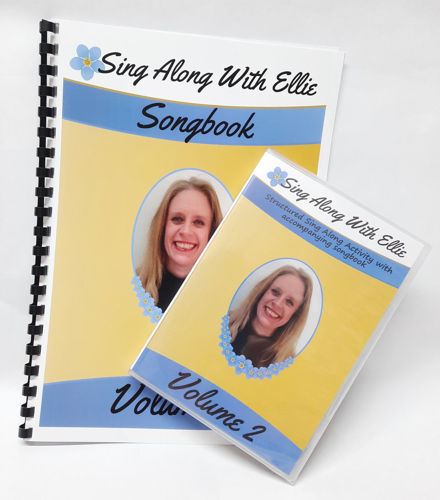 Picture of Sing-Along with Ellie 2 - DVD & Songbook