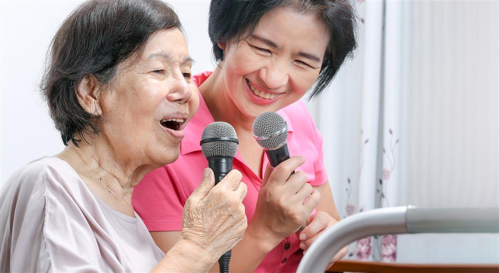 Karaoke DVDs for Care Homes