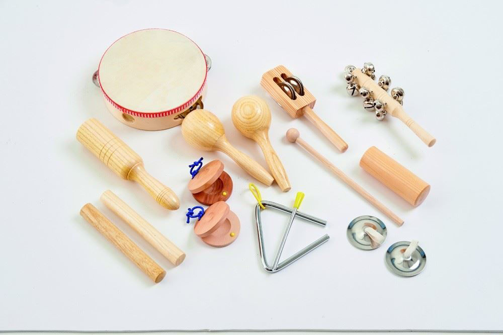 Percussion Set 10 Instruments | Activities to Share