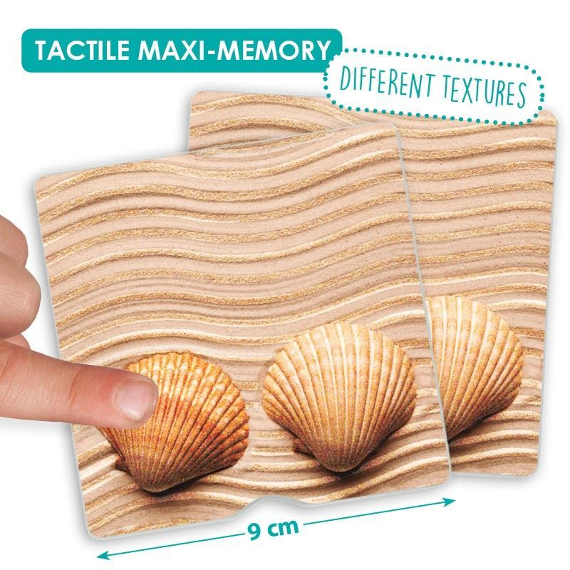 Tactile Maxi Memory Game - Nature | Activities to Share